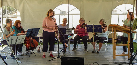 Ladies Choice performing at Arts Alive 2016